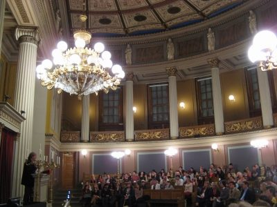 "UNICA STUDENT CONFERENCE 2012: ""The Ideal European University"", University of Oslo, 10-13 October 2012"