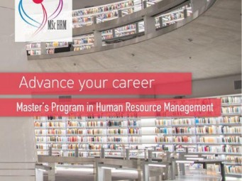 Call for applications: Master's Program in Human Resource Management