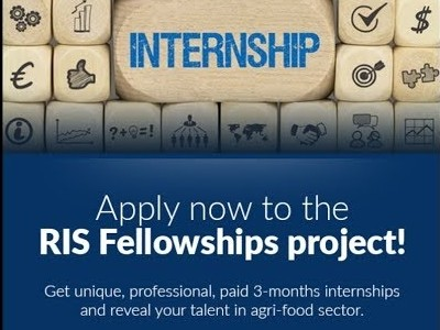 EIT Food RIS Fellowships for MSc students, graduates, young entrepreneurs, doctoral students and post-docs: Apply by 26 April!