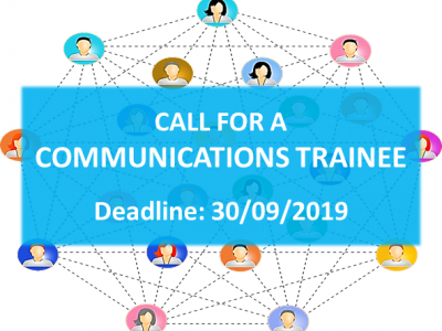 Looking for an interesting Communications traineeship at UNICA? Apply before 30 September!