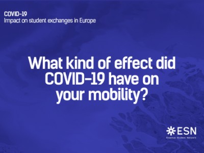 ESN survey – COVID-19 impact on student exchanges in EU