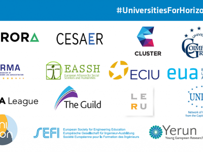 UNICA with 13 other university associations call for an increase of Horizon EU budget