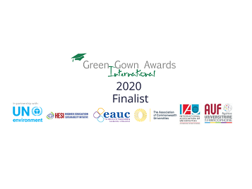 SAVES 2 finalist in the International Green Gown Awards