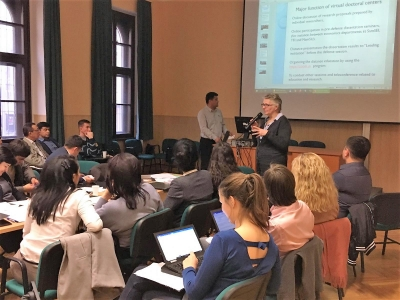 UZDOC 2.0 partners prepare for final event after meeting in Budapest