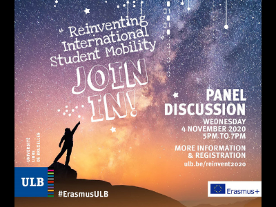 Online Panel Discussion: 'Reinventing International Student Mobility' | ULB | 4 November