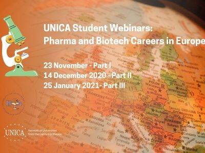 UNICA Student Webinars: Pharma and Biotech Careers in Europe, PART 3
