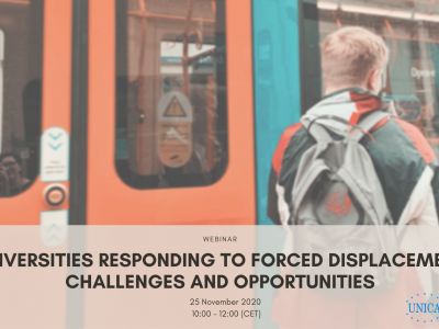Universities responding to forced displacement – Challenges and Opportunities