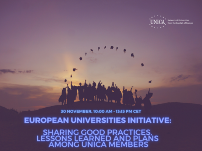 European Universities Initiative: Sharing good practices, lessons learned and plans among UNICA Members
