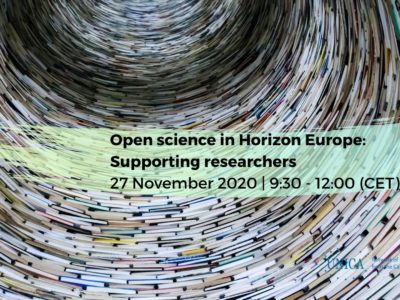 UNICA EURLO-Scholarly Communication joint meeting on Horizon Europe Open Science regulations