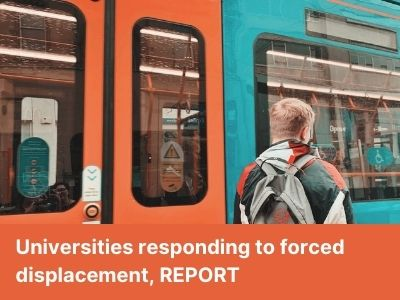 "UNICA publishes report of its webinar ""Universities responding to forced displacement"""
