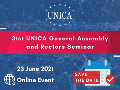 31st UNICA General Assembly & Rectors Seminar