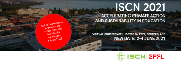 ISCN 2021: Accelerating Climate Action and Sustainability in Education | Open call