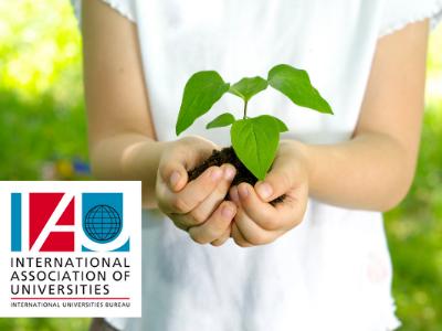 International Association of Universities (IAU) organises webinar on Acting and Educating for Sustainable Development at Universities