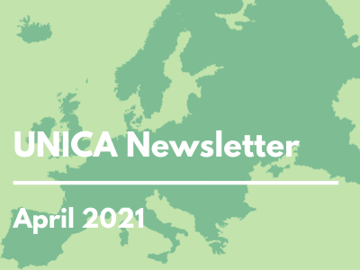 News from UNICA, April 2021