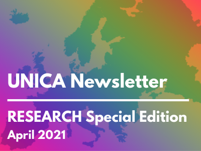 Research on the spotlight: UNICA upcoming & recent activities