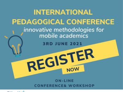 "TWE+ Project: Innovative methodologies for mobile academics – An international pedagogical ""reverse"" conference | 3 June 2021"
