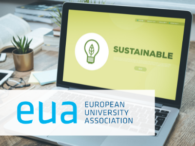"""EUA webinar """"Environmental sustainability and the future of mobility and internationalisation"""", with contribution from the University of Edinburgh"""