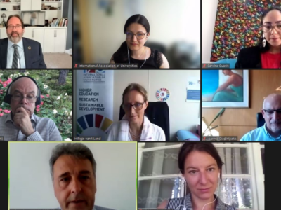 UNICA – IAU joint webinar: Higher Education Leadership Practices and Leaders for a Sustainable Future, 8 June 2021