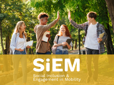 3 steps forward for social inclusion: read the publications by SiEM project to make international mobility opportunities more inclusive