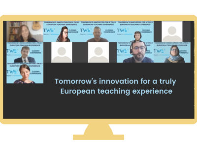 TWE+ Closing Conference: Tomorrow's innovation for a truly European teaching experience | After the conference