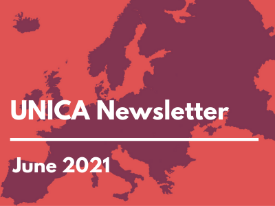 News from UNICA, June 2021