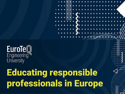 Join the European University Alliance 'EuroTeQ Engineering University' in its first high level event on Educating Responsible Professionals in Europe