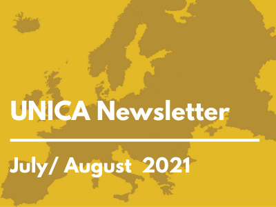 News from UNICA, July/ August 2021