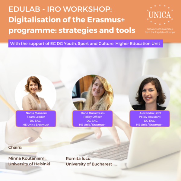 Digitalisation of the Erasmus+ programme: strategies and tools, 14 September 2021 // Report