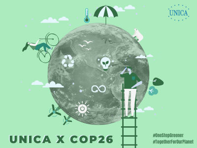 #TogetherForOurPlanet: UNICA universities join COP26's comittement to global climate action with different activities