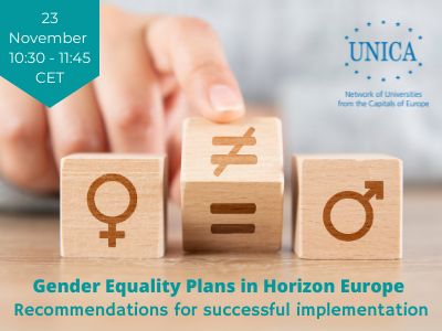 Gender Equality Plans in Horizon Europe – Recommendations for successful implementation