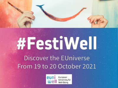 FestiWell: join the European University EUniWell event to take well-being forward
