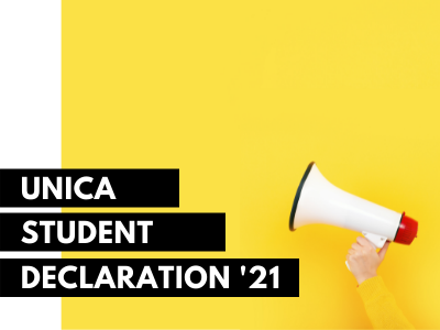 UNICA Student Declaration: students call for action to build the university of the future