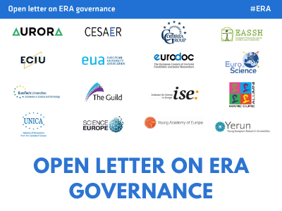 European Research Area: UNICA and other organisations call for stakeholder voice in governance