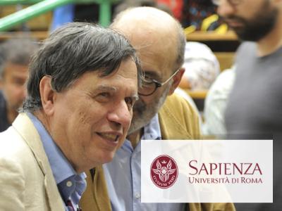 Giorgio Parisi, from Sapienza University of Rome, is Nobel Prize in Physics